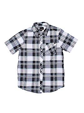 O'Neill Short Sleeve Button-Down Shirt Size M (Kids)