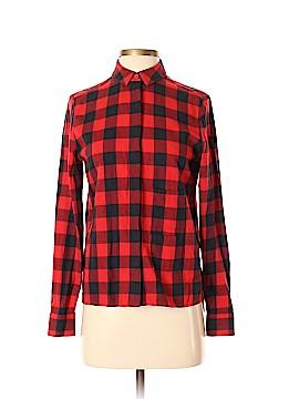 Kate Spade Saturday Long Sleeve Button-Down Shirt Size XS