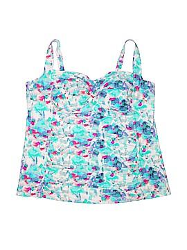 Ava & Viv Swimsuit Top Size 26W (Plus)