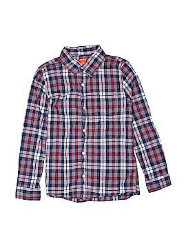 Joe Fresh Long Sleeve Button-Down Shirt Size 14