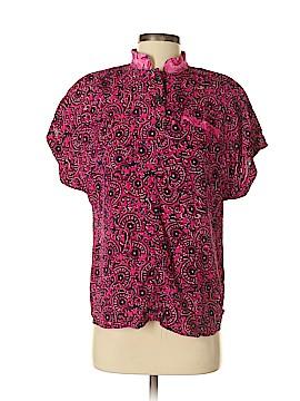 Carole Little Short Sleeve Blouse Size 4