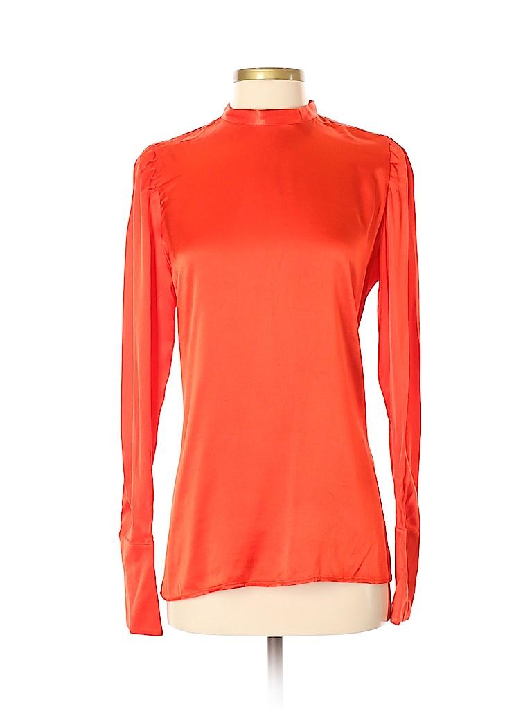 Treasure & Bond Women Long Sleeve Blouse Size S