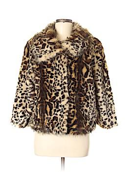 Adrienne Landau Faux Fur Jacket Size M