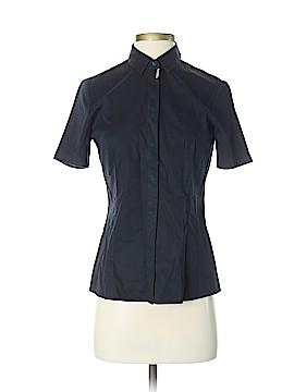 BOSS by HUGO BOSS Short Sleeve Button-Down Shirt Size 4