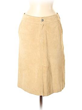 Balmain Leather Skirt Size 38 (FR)