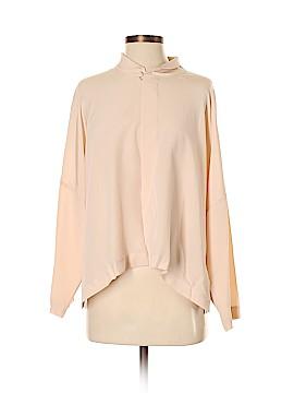 Eskandar Long Sleeve Silk Top Size 0