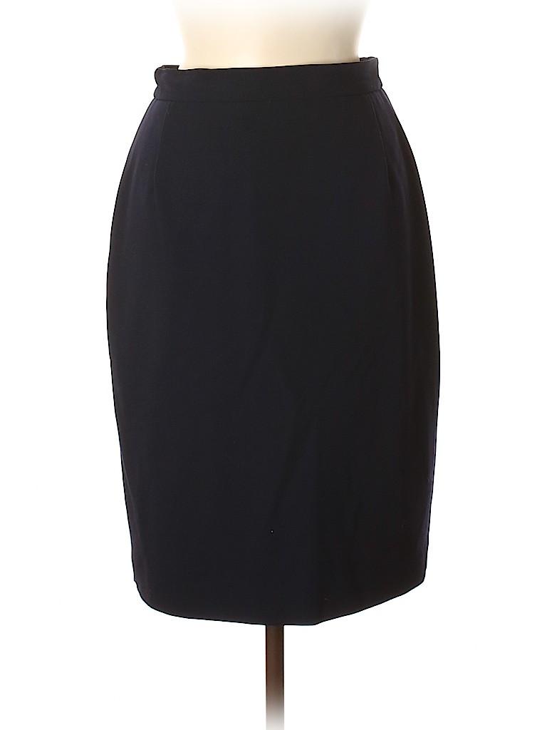 Max Mara Women Wool Skirt Size 6