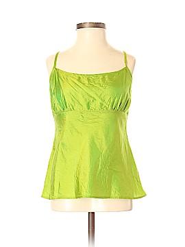 Dosa Sleeveless Silk Top Size Sm (1)