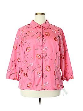 Dana Buchman Silk Blazer Size 18 (Plus)