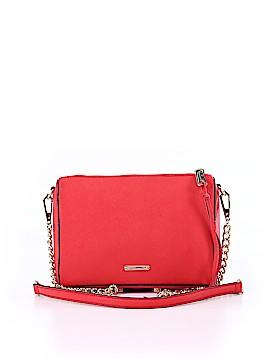 ShoeMint Leather Crossbody Bag One Size