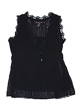 Hillard & Hanson Short Sleeve Blouse Size M