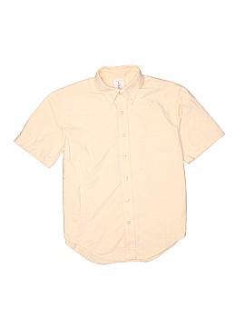 Lands' End Short Sleeve Button-Down Shirt Size 10 - 12