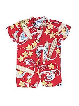 Big Fish Short Sleeve Button-Down Shirt Size 18 mo