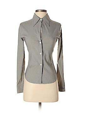 Theory Long Sleeve Button-Down Shirt Size XS