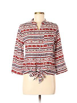 Grifflin Long Sleeve Blouse Size M