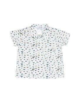 Baby CZ by Carolina Zapf Short Sleeve Button-Down Shirt Size 12-18 mo