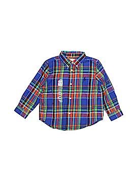 Ralph Lauren Long Sleeve Button-Down Shirt Size 24 mo