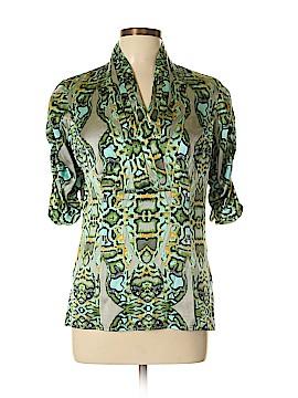Etcetera 3/4 Sleeve Silk Top Size 10