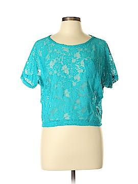 Kirra Short Sleeve Blouse Size L