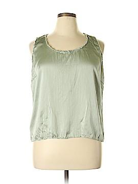 Calvin Klein Sleeveless Silk Top Size 14