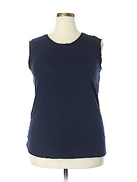 Ann Taylor LOFT Sleeveless T-Shirt Size XXL