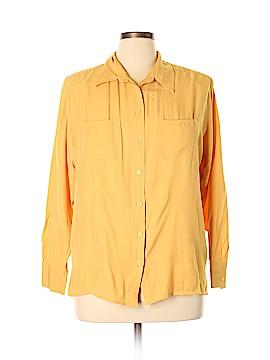 Karen Scott Long Sleeve Blouse Size XL
