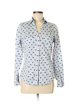 7th Avenue Design Studio New York & Company Long Sleeve Button-Down Shirt Size M