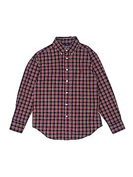 Ralph Lauren Long Sleeve Button-Down Shirt Size S (Kids)