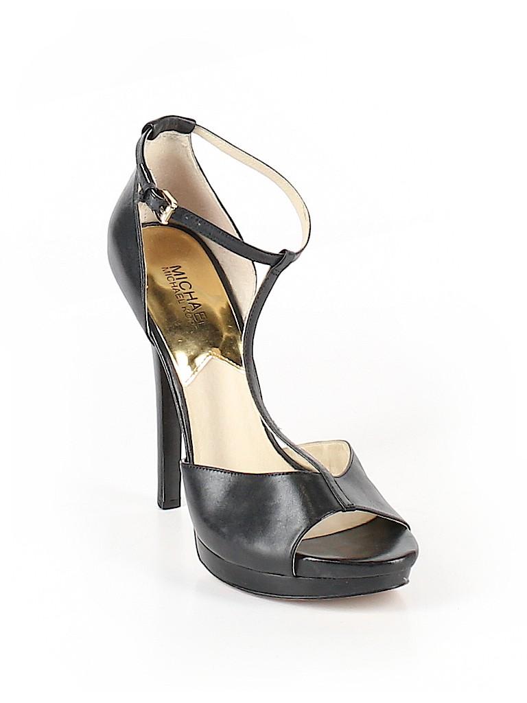 c7aa4801fe8e MICHAEL Michael Kors Solid Black Heels Size 9 1 2 - 71% off