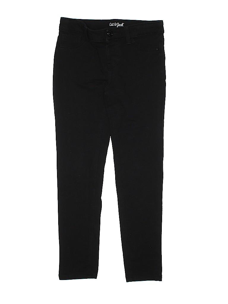 677136ebe402d Cat   Jack Solid Black Jeggings Size 10 - 12 - 60% off