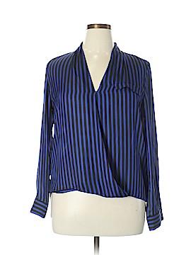 Metaphor Long Sleeve Blouse Size L