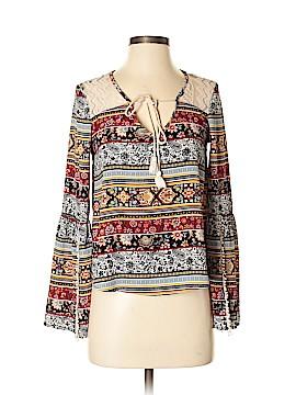 Olsenboye Long Sleeve Blouse Size XS