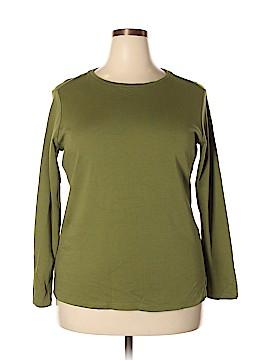 Isaac Mizrahi LIVE! Long Sleeve T-Shirt Size 1X (Plus)