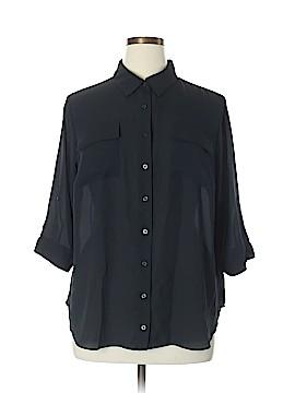 Worthington 3/4 Sleeve Blouse Size 0X (Plus)