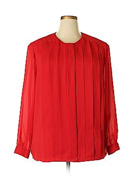 Josephine Long Sleeve Blouse Size 22 (Plus)