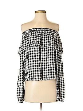 LA Banga USA Long Sleeve Blouse Size S