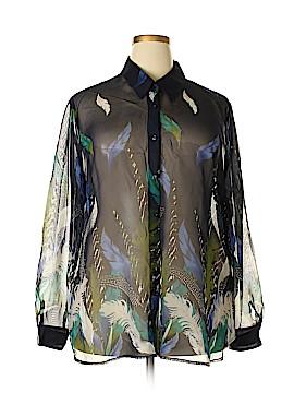 Liz Baker Long Sleeve Blouse Size 2X (Plus)