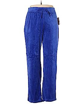 Kim Rogers Velour Pants Size XL