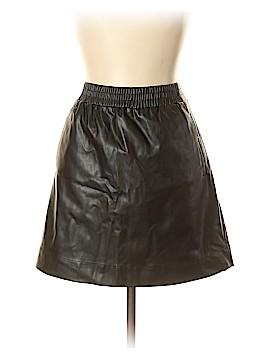 Ann Taylor LOFT Faux Leather Skirt Size L