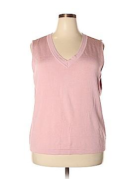 Jones New York Collection Sweater Vest Size 3X (Plus)