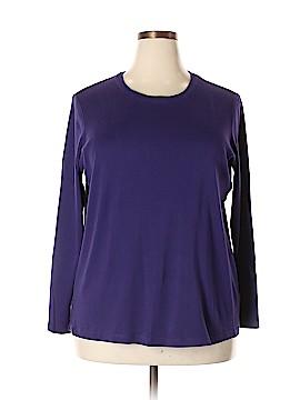 Lands' End Long Sleeve T-Shirt Size 20 (Plus)