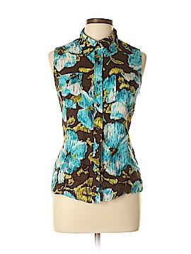 Jones New York Sport Sleeveless Button-Down Shirt Size L