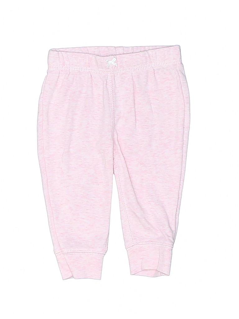 Carter's Girls Sweatpants Size 3 mo
