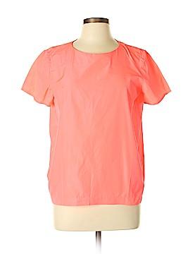 Maje Short Sleeve Blouse Size Lg (3)