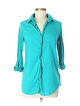 Allison Brittney Long Sleeve Button-Down Shirt Size M