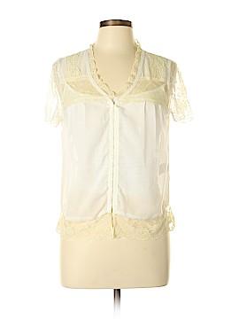 S. Line Short Sleeve Blouse Size L