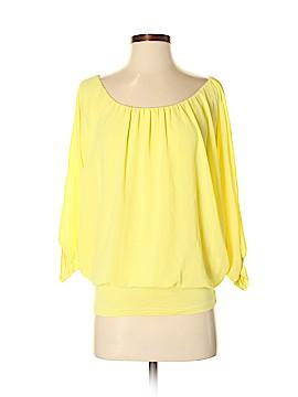 Sandro Ferrone 3/4 Sleeve Blouse Size S