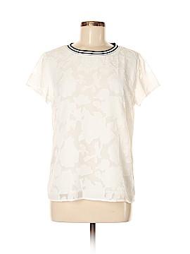 Adiva Short Sleeve Blouse Size M
