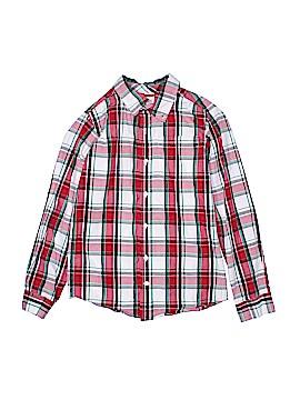 Gymboree Long Sleeve Button-Down Shirt Size 10 - 12