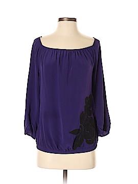 Matty M 3/4 Sleeve Silk Top Size S